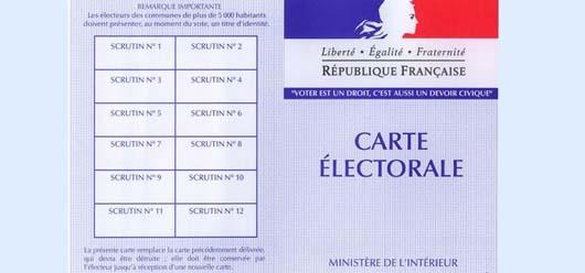 Pensez à vous inscrire sur les listes électorales