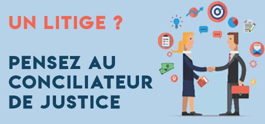 Justice : pensez au Conciliateur